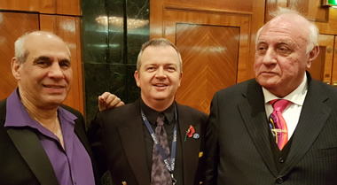 John La Valle, George Cunningham and Dr. Richard Bandler